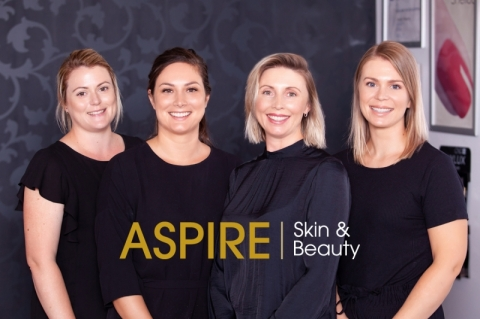 Website Design for Aspire Skin and Beauty